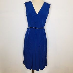 Marc Jacobs sz 6 belted pleated dress